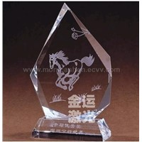 Laser engraving and cutting machine ---- Organic glass sample