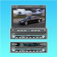 One-DIN Car TFT W/Build-in DVD and TV Amp Radio
