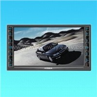 Double-DIN Car TFT W/Build-in DVD and TV Amp Radio