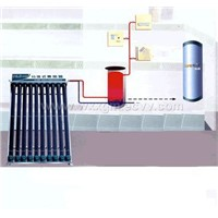 Solar Heater Saparated From Water Tank
