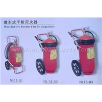 Sell Wheeled Dry Powder Fire Extinguisher