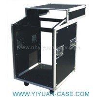 16U Combo Case with Sliding Top(No Doors)
