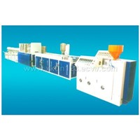 Wood & Plastic Profile Production Line