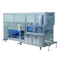 5 gallon water bottling machine, bottle washing, filling and capping machine