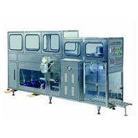 Bottling machine, bottle washing, filling and capping machine