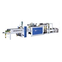 High Speed Plastic Film Bag Making Machine