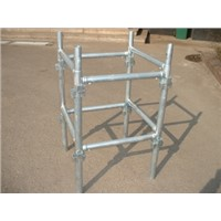 Faucet joint scaffolding