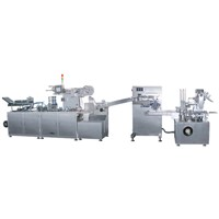 Automatic Ampoule Packing Production Line / Blister Packing Machine