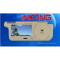 Sun-visor DVD player SV-DVD-70A