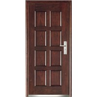 Composite wooden door