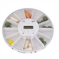 14-Compartments Pill Box with Time&Alarm