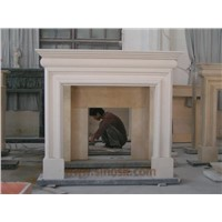 Fireplace Mantels,Marble Fireplaces,Travertine Fir