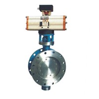 wafer metal-seal butterfly valve