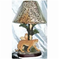 Home Decoration - Lamp with animal