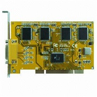 4 channel CCTV DVR card
