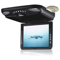Toppie 10.4 inches Roof Mount car TFT-LCD monitor with TV/DVCD/CD/MP3/MP4/FM Player