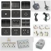 Electrical Outlets - PLUGS, SOCKETS, SWITCHES