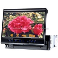 "car dvd player with 7"" screen/MP4"