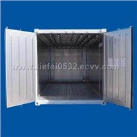 20' Steel Reefer with Meat Hanging System