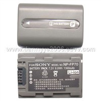 Replacement Camcorder Batteries for Sony NP-FP70