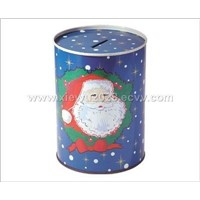 gift tin box and tin can