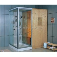 Sauna Room & Steam Room
