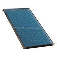 flat panel heat collector for solar water heater