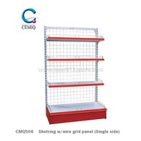 Shelving W/Wire Grid Panel (Single Side) CMQ506