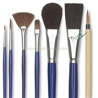 arts brush,wooden pottery tool kits,wooden pen