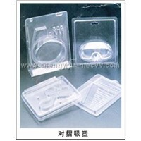 Plastic folding box & clamshell & container,