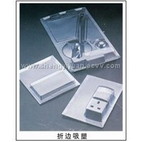 plastic folding clamshell & container, blister