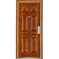 exterior metal steel security door