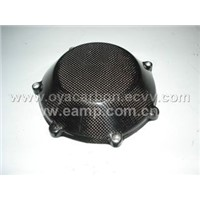 carbon fiber motorcycle clutch cover