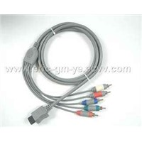 Wii Component HDTV Cable
