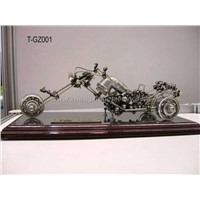 Handmade Metal Motorcycle Model Gift