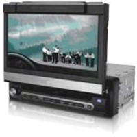 One Din Car DVD Player With TV Touch Screen Divx U
