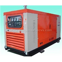 Diesel generator with soundproof