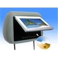 7 inch TFT LCD with headrest DVD player