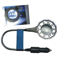 auto LED magnifying map/book light