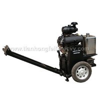 asphalt road surface crack Router saw