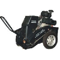 Cement road surface crack cleaning machine