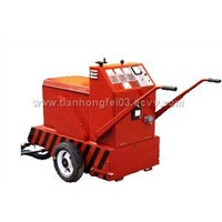 Cement road surface crack filling machine