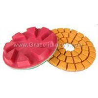 diamond floor polishing pad
