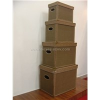 storage boxes set of 4 pcs