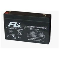6V7.5AH sealed lead-acid battery
