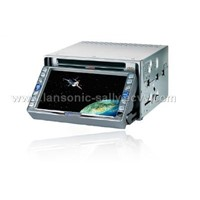 Car DVD with two-din Touch Screen,6.5