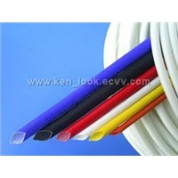GLASSFIBRE INSULATING SLEEVE OF SILICONE