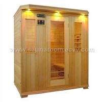 4-person sauna room