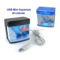 USB Mini Aquarium With Light