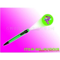Flash Plastic Ball Point Pen